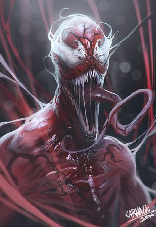 Обои на телефон жнец, кровь, бойня, symbiote, man, kletus