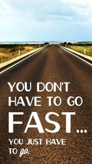 Обои на телефон просто, go, fast