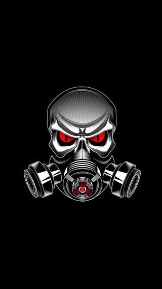 Обои на телефон череп, маска, skull mask