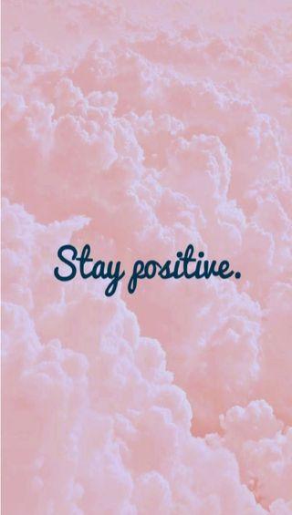 Обои на телефон позитивные, stay positive, dfsd