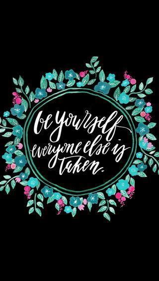 Обои на телефон себя, будь, be yourself