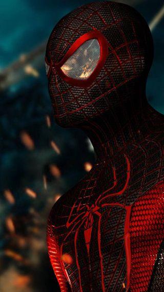 Обои на телефон паучок, веном, человек паук, spiderman intense