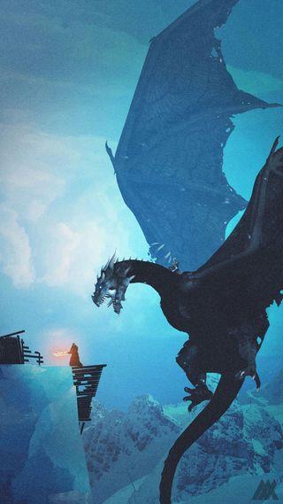Обои на телефон таргариен, рыцарь, король, игра, зима, дракон, knight king, got, dragon, daenerys targaryen
