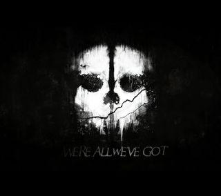 Обои на телефон черные, скелет, пс4, призрак, новый, xbox one, ps4, dbz, cod, call of duty ghosts, black ops 2