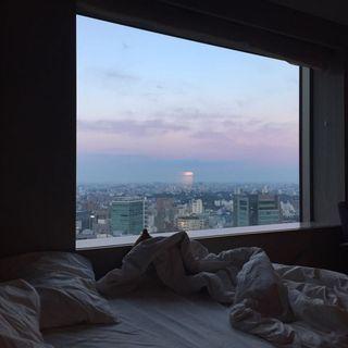 Обои на телефон окно, эстетические, город, aestheticwindow