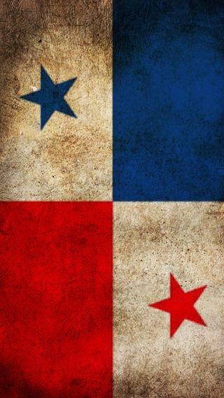 Обои на телефон флаг, синие, красые, красные, белые, panama, bandera de panama