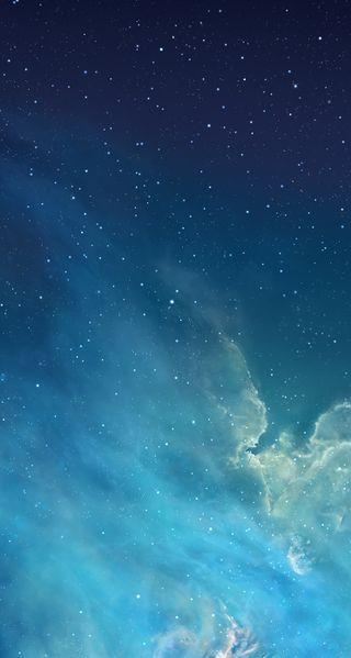 Обои на телефон эпл, синие, прекрасные, галактика, айфон, iphone 5 ios 7, iphone, galaxy, apple