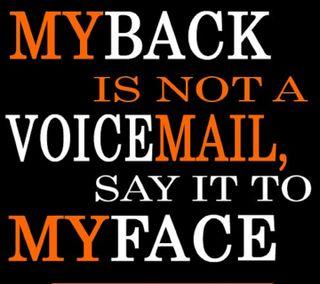 Обои на телефон лицо, цитата, сказать, правило, оно, жизнь, voicemail, say it, myback