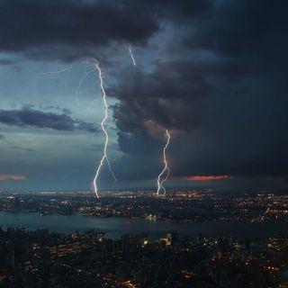 Обои на телефон погода, шторм, удар, тема, огни, облака, молния, аврора, lightnings, electricity