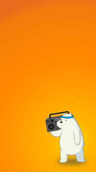 Обои на телефон сеть, медведи, мультфильмы, музыка, медведь, лед, диджей, ice bear, dj ice bear