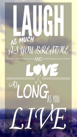 Обои на телефон смех, цитата, любовь, высказывания, вдохновляющие, love, live