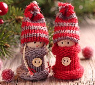 Обои на телефон дети, рождество, милые, кукла, каникулы, christmas kids