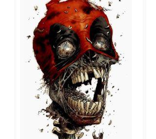 Обои на телефон зомби, смерть, омг, мертвый, марвел, комиксы, злодей, дэдпул, marvel, decoy, deadpool - zombie, dc