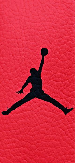 Обои на телефон спортивные, черные, узоры, логотипы, красые, джордан, бренды
