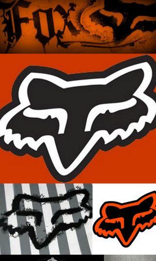 Обои на телефон гонка, оранжевые, лиса, fox racing, fox orange