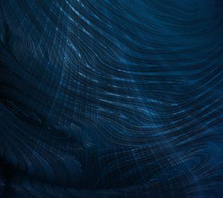 Обои на телефон волна, синие, океан, абстрактные, ocean wavy