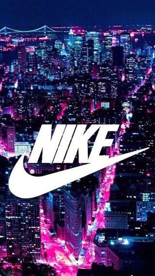 Обои на телефон розовые, просто, найк, логотипы, город, nike, do, blu and pink, air