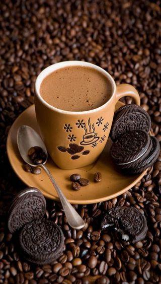 Обои на телефон кофе, ты, время, coffee time