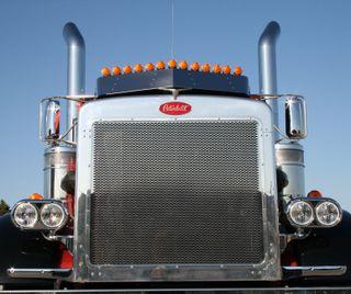 Обои на телефон грузовик, semi truck, semi, grillin, big rig