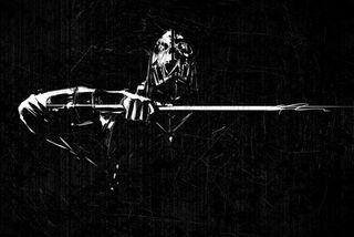 Обои на телефон самурай, меч, клинок, ассасин, masked, dishonored