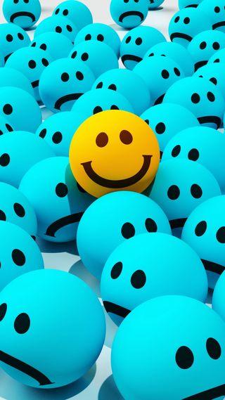 Обои на телефон смайлы, эмоджи, счастливые, смайлики, радость, лица, конфеты, грустные, joy sadness, happy
