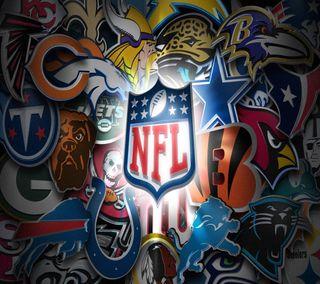 Обои на телефон nfl, nfl logo, логотипы, футбол, спорт, спортивные, команда