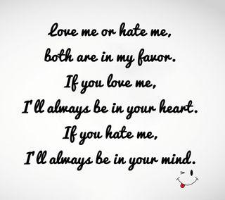 Обои на телефон ненависть, любовь, love or hate, gsdf