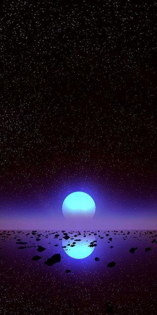 Обои на телефон фиолетовые, природа, ночь, красочные, звезды, закат, s8, s7, g6