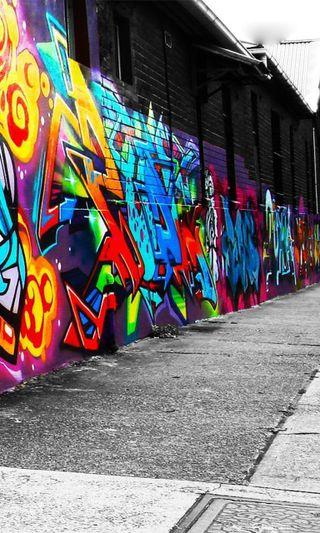 Обои на телефон городские, цветные, улица, стена, рисунки, отношение, мир, классные, дизайн, граффити, арт, graffiti wall, art