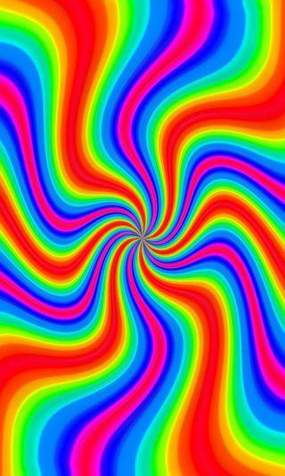 Обои на телефон цветные, радуга, психопат, любовь, крутые, забавные, psycho 57, love, hippy, druffix