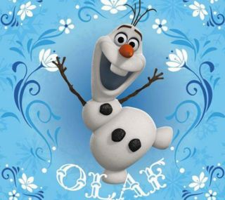 Обои на телефон холодное, снеговик, снег, олаф, зима