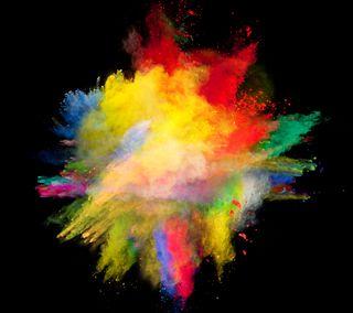 Обои на телефон взрыв, цветные, бомба, colorbomb
