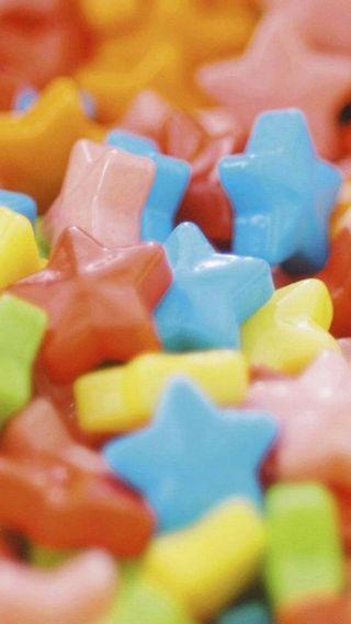 Обои на телефон конфеты, цветные