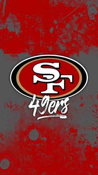 Обои на телефон футбол, стена, спорт, мотивация, красые, команда, nfl, 49ers grunge wall, 49ers