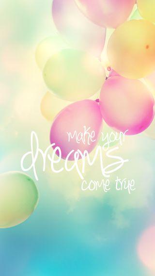 Обои на телефон твой, мечты, правда, делать, make your dreams, come true