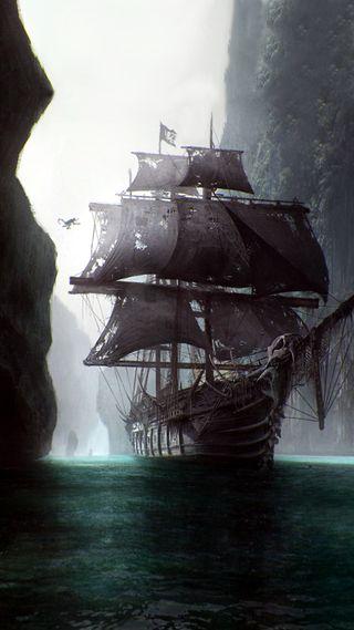 Обои на телефон пираты, корабли, призрак, navire, ghost