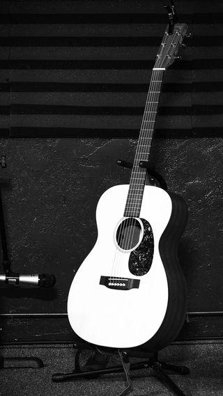 Обои на телефон music instrument, white paul guitar, белые, музыка, гитара, инструмент