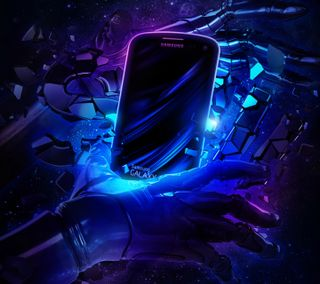 Обои на телефон киборг, галактика, galaxy s3, cyborg galaxy s3