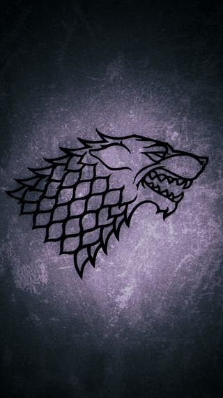 Обои на телефон трон, старк, логотипы, игра, волк, stark logo, game of tron