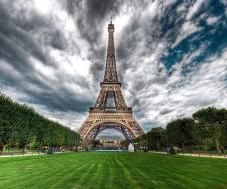 Обои на телефон чудо, париж, башня