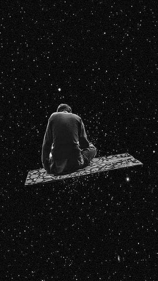 Обои на телефон представить, одиночество, одинокий, небо, летать