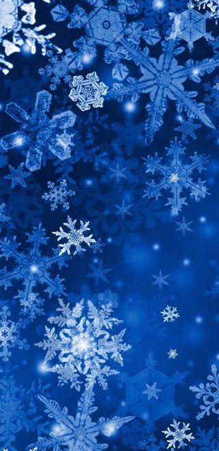 Обои на телефон снежинки, каникулы, синие, рождество, праздник, зима, bluesnowflake