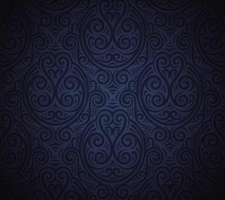 Обои на телефон шаблон, текстуры, сони, синие, z1, xperia, sony