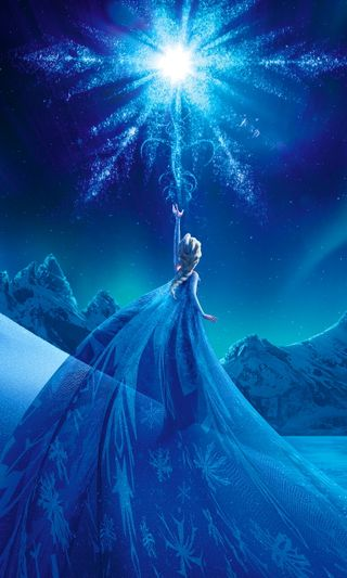 Обои на телефон эльза, королева, холодное, фильмы, снег, персонажи, дисней, disney, arendelle