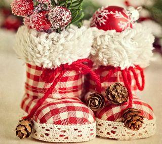 Обои на телефон украшение, счастливое, рождество, время