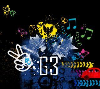 Обои на телефон цветные, музыка, крутые, дизайн, городские, абстрактные, lg, g3
