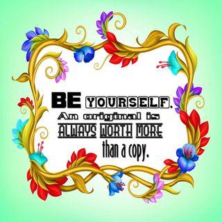Обои на телефон цитата, цветы, текст, слова, себя, оригинальные, всегда, будь, worth, be yourself, be original