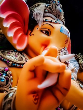Обои на телефон ганпати, ганеша, ганеш, индия, господин, бог, shri ganesh
