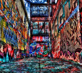 Обои на телефон граффити, городские, город, арт, art