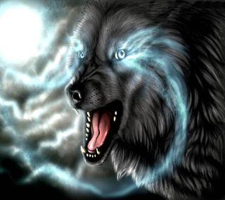 Обои на телефон волк, -----------------
